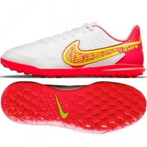 Buty Nike Jr. Tiempo Legend 9 Club TF DA1334 176 biały 37 1/2
