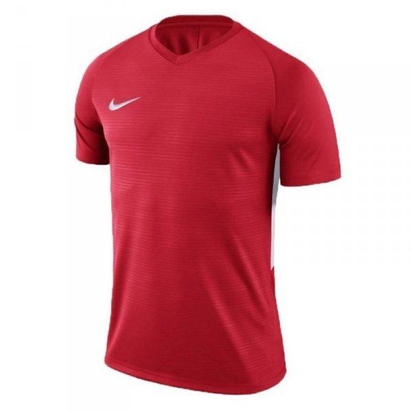 Koszulka Nike Y Tiempo Premier JSY SS 894111 657 czerwony XL (158-170cm)