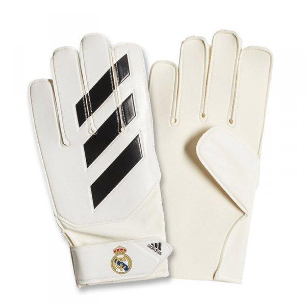 Rękawice adidas Young Pro Real Madryt CW5620 biały 4
