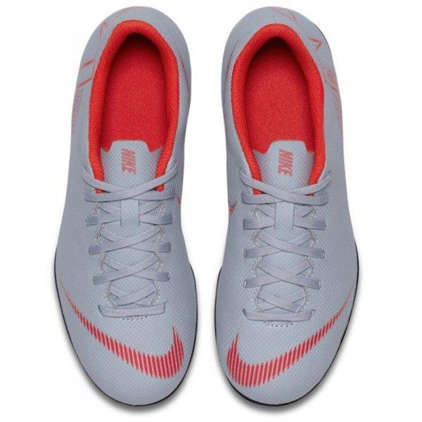 Buty Nike Jr Mercurial Vapor 12 Club GS MG AH7350 060 szary 38 1/2