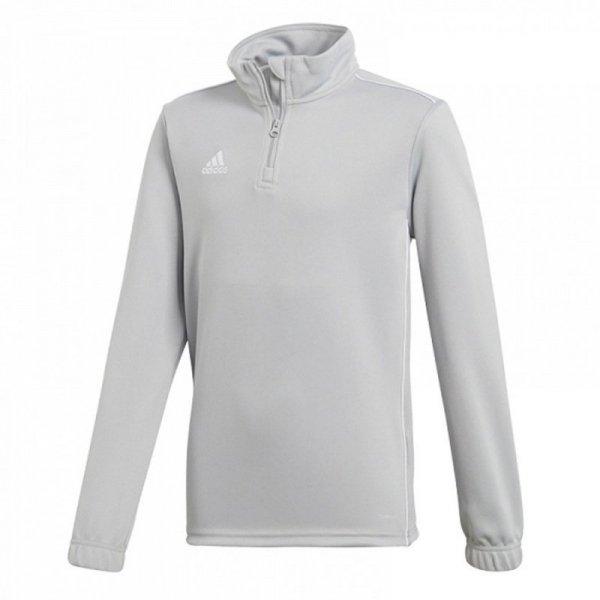 Bluza adidas CORE 18 TR TOP CV4142 szary 152 cm