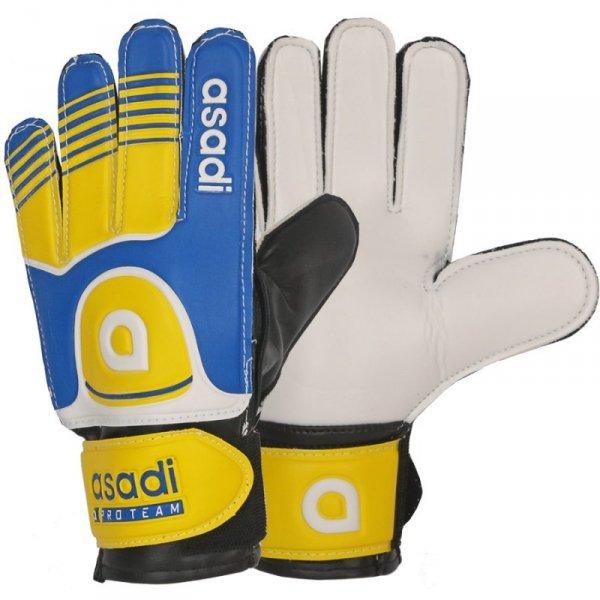 Rękawice Asadi Junior żółty 4
