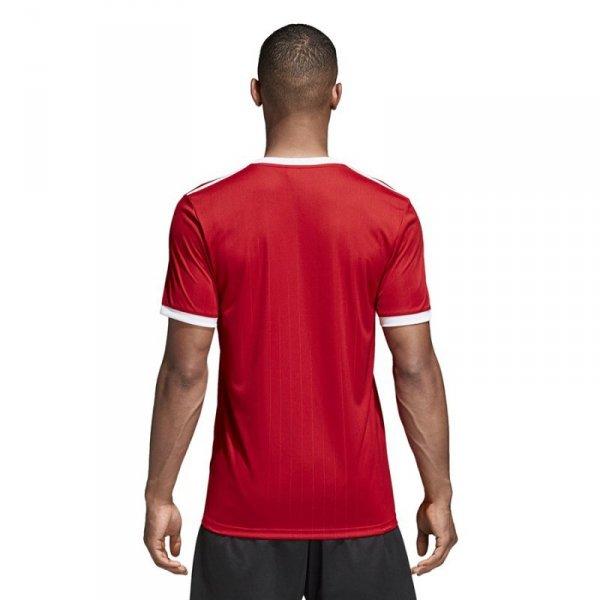 Koszulka adidas Tabela 18 JSY CE8935 czerwony 116 cm