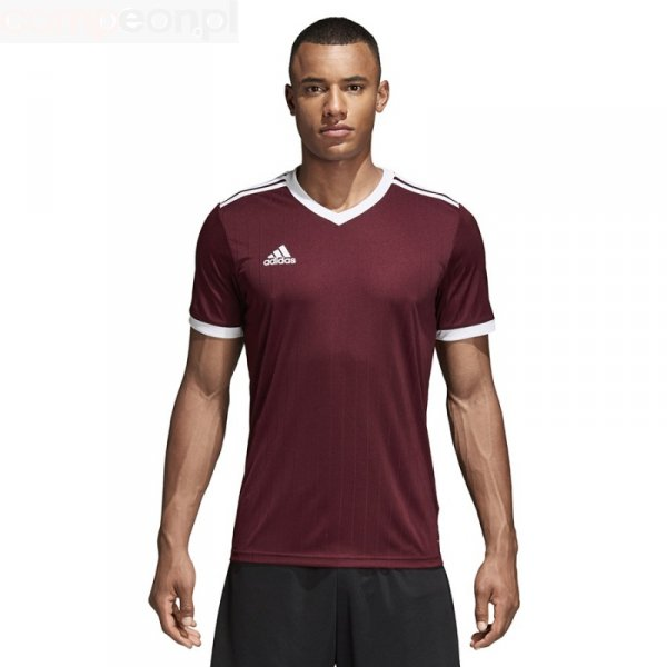 Koszulka adidas Tabela 18 JSY CE8945 czerwony M