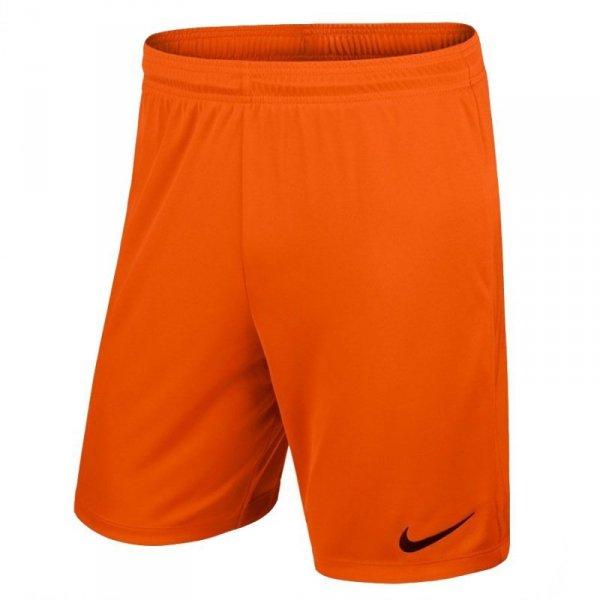 Spodenki Nike Park II Knit 725887 815 pomarańczowy XL