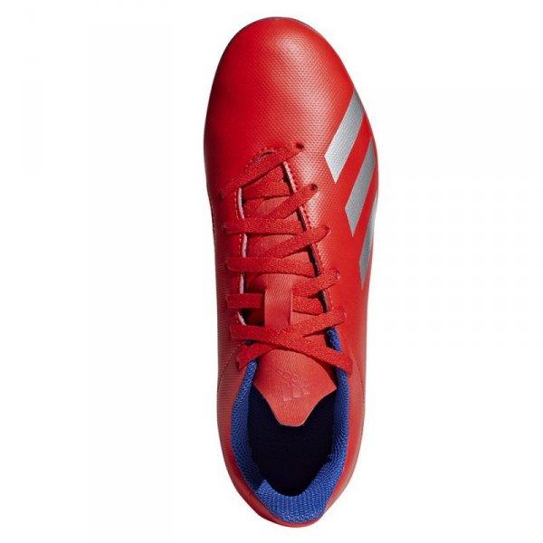 Buty adidas X 18.4 FXG J BB9379 czerwony 37 1/3
