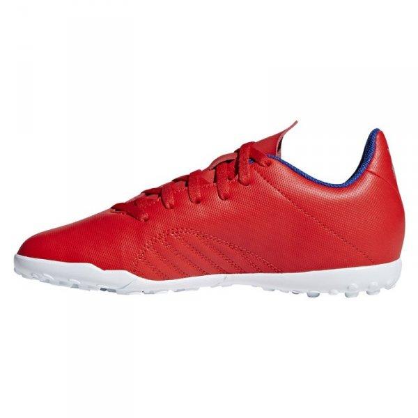 Buty adidas X 18.4 TF J BB9417 czerwony 38