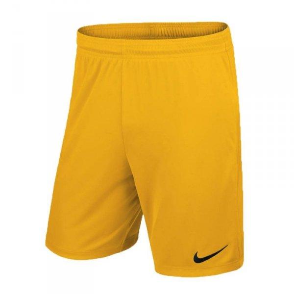Spodenki Nike Park II Knit 725887 739 żółty XL