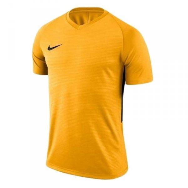 Koszulka Nike Y Tiempo Premier JSY SS 894111 739 żółty M (137-147cm)