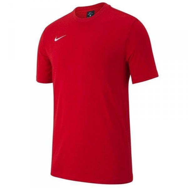 Koszulka Nike Y Tee Team Club 19 AJ1548 657 czerwony M (137-147cm)