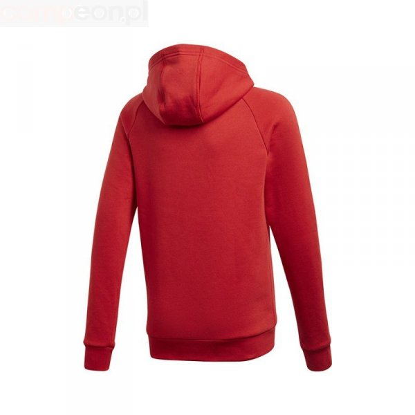 Bluza adidas CORE 18 Y Hoody CV3431 czerwony 176 cm