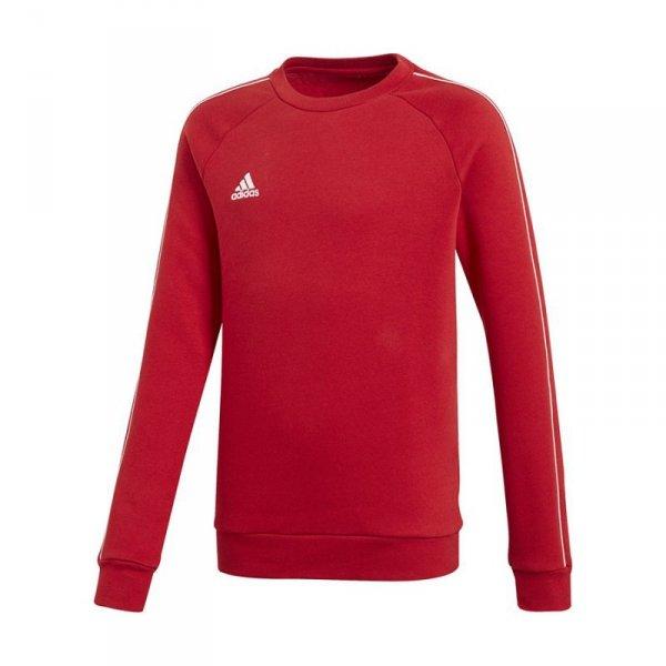 Bluza adidas CORE 18 SW Top Y CV3970 czerwony 152 cm