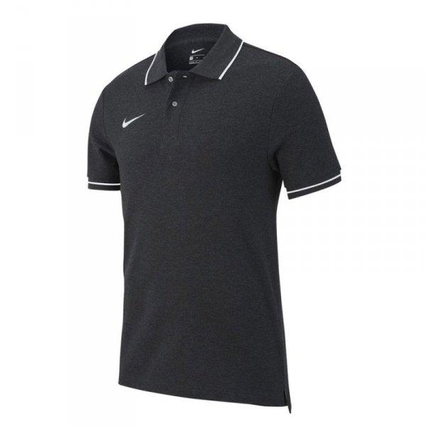 Koszulka Nike Polo Y Team Club 19 AJ1546 071 szary M (137-147cm)