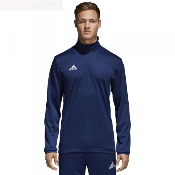 Bluza adidas CORE 18 TR TOP CV3997 granatowy M