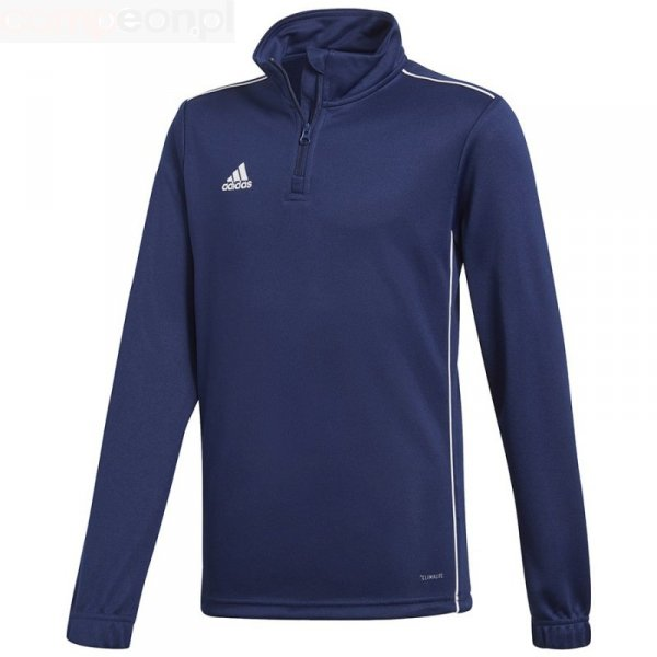 Bluza adidas CORE 18 TR Top Y CV4139 granatowy 116 cm