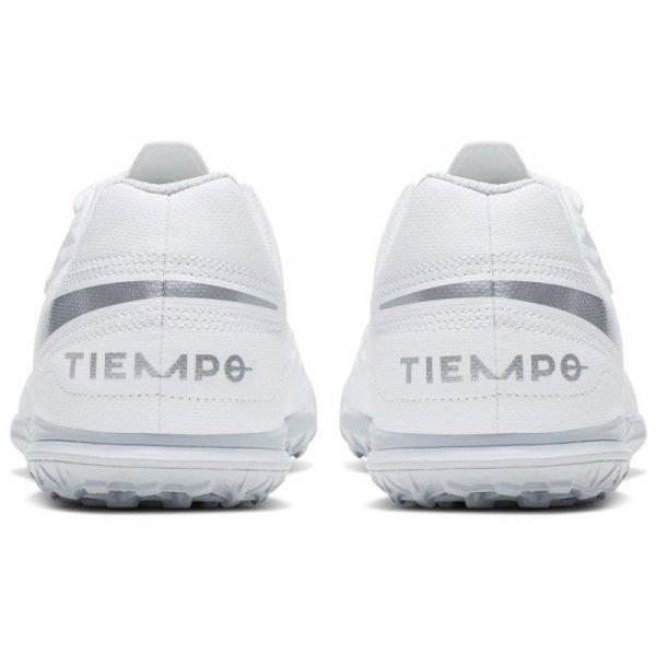 Buty Nike JR Tiempo Legend 8 Club TF AT5883 100 biały 36