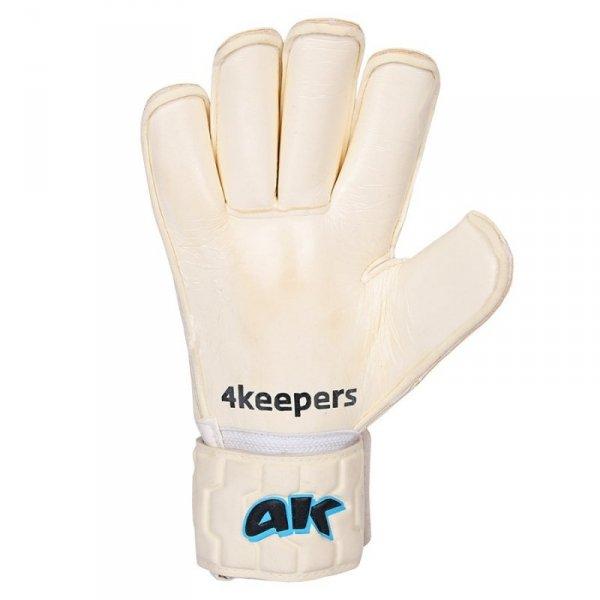 Rękawice 4keepers Champ Aqua Contact IV RF + płyn czyszczący biały 10,5