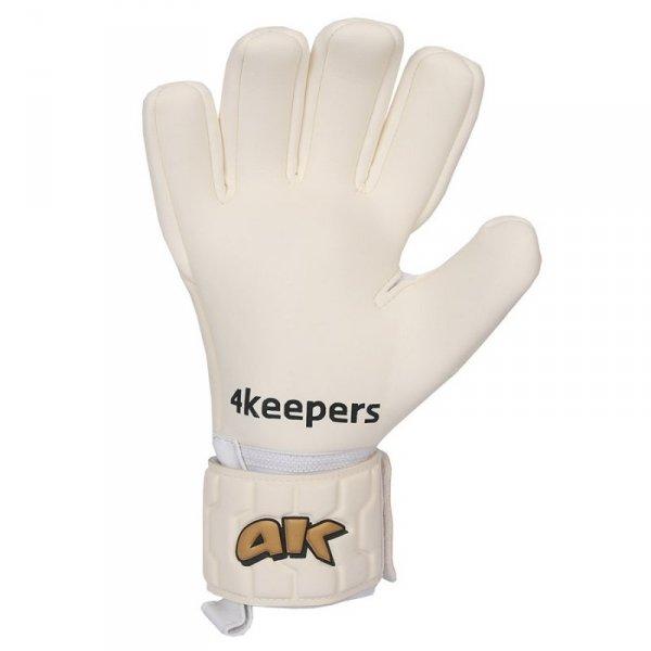 Rękawice 4keepers Champ  Gold IV NC + płyn czyszczący biały 8
