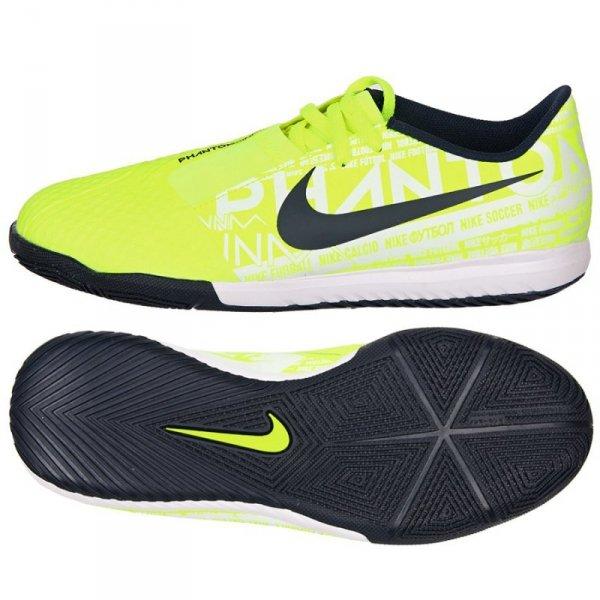 Buty Nike JR Phantom Venom Academy IC AO0372 717 żółty 35