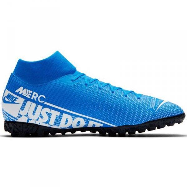 Buty Nike Mercurial Superfly 7 Academy TF AT7978 414 niebieski 41