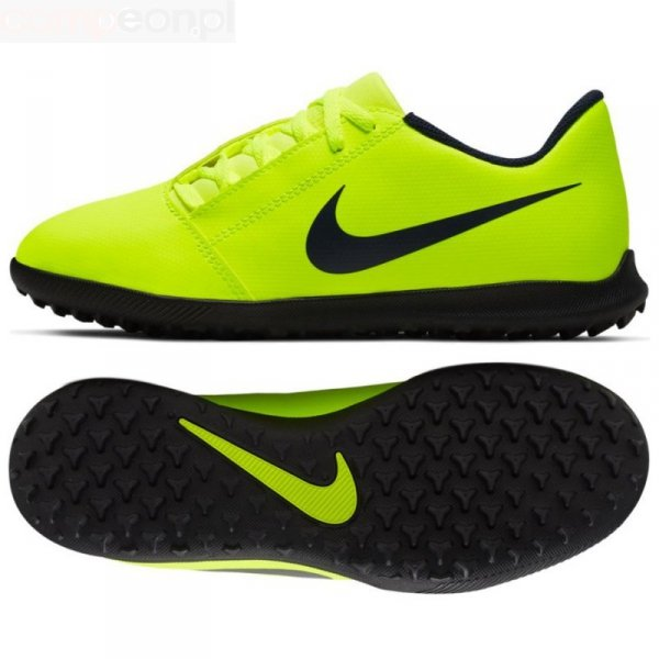 Buty Nike JR Phantom Venom Club TF AO0400 717 żółty 38