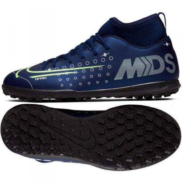 Buty Nike JR Mercurial Superfly 7 Club MDS TF BQ5416 401 niebieski 38