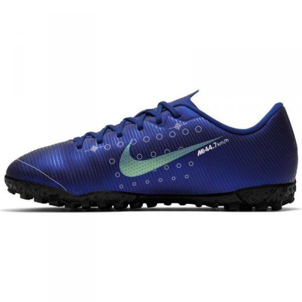 Buty Nike JR Mercurial Vapor 13 Academy MDS TF CJ1178 401 niebieski 38 1/2
