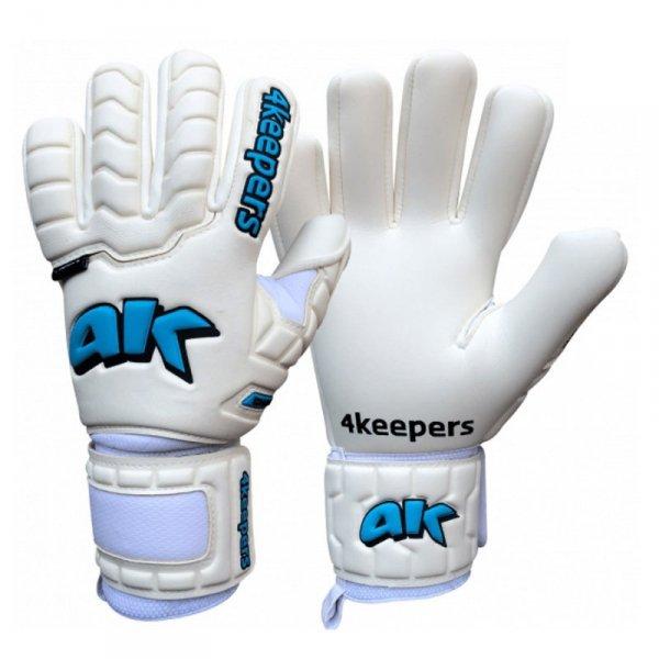 Rękawice 4keepers Champ Aqua IV NC  + płyn czyszczący biały 9,5