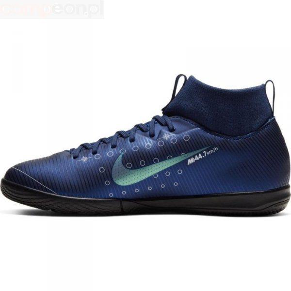 Buty Nike JR Mercurial Superfly Academy MDS IC BQ5529 401 niebieski 33