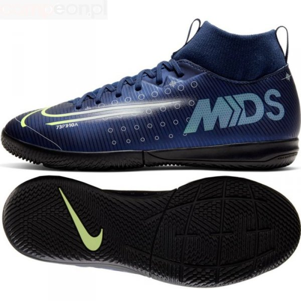 Buty Nike JR Mercurial Superfly Academy MDS IC BQ5529 401 niebieski 34