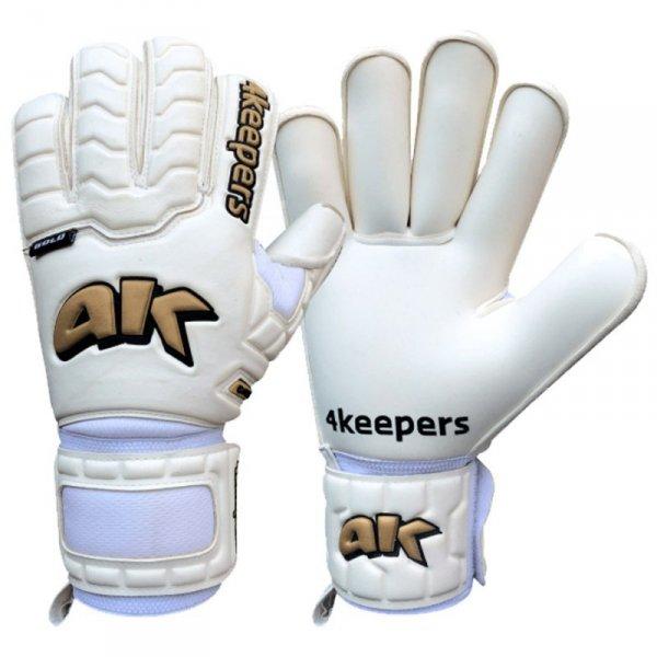 Rękawice 4Keepers Champ Gold IV HB S624822 biały 8