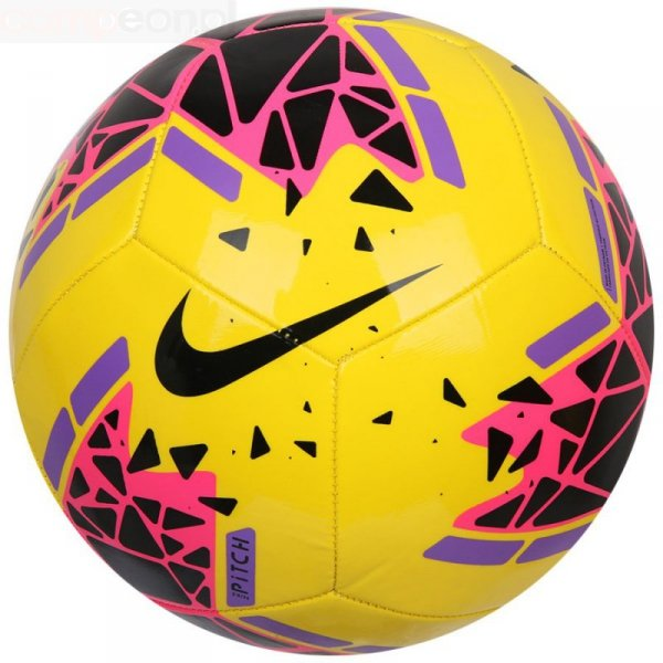 Piłka Nike Pitch SC3807 710 żółty 4