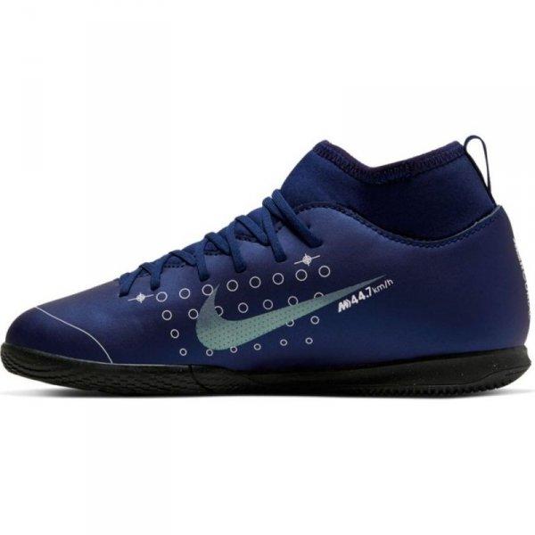 Buty Nike JR Mercurial Superfly 7 Club MDS IC BQ5417 401 niebieski 34