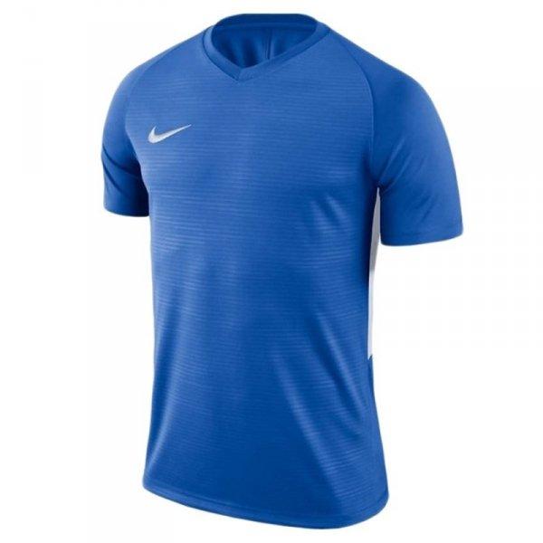 Koszulka Nike Y Tiempo Premier JSY SS 894111 463 niebieski S (128-137cm)
