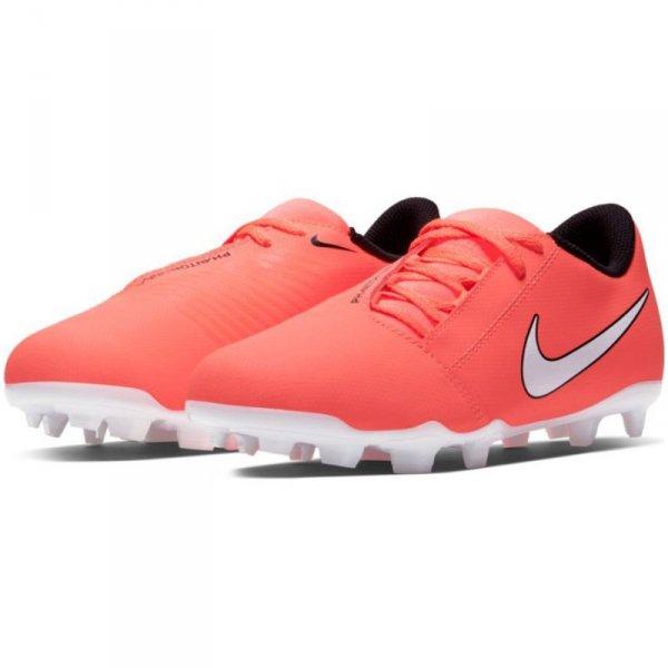 Buty Nike JR Phantom Venom Club FG AO0396 810 pomarańczowy 36