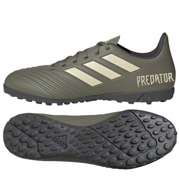 Buty adidas Predator 19.4 TF EF8212 zielony 42