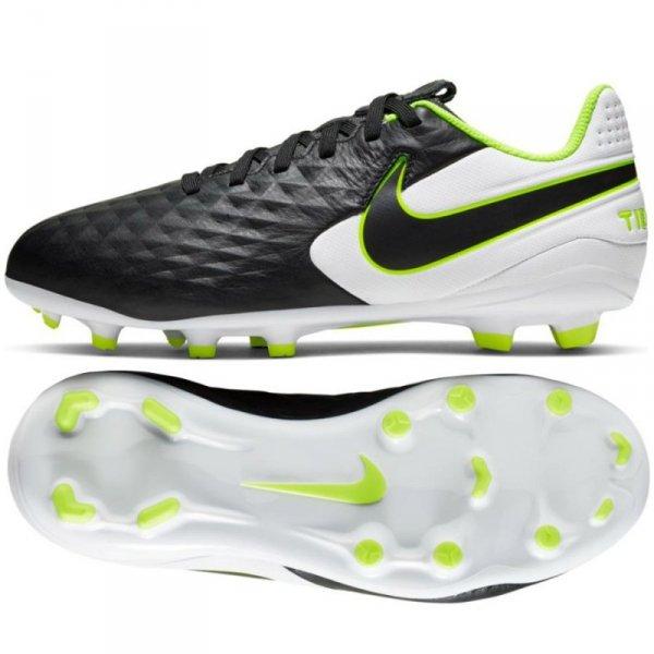 Buty Nike JR Tiempo Legend 8 Academy FG/MG AT5732 007 czarny 36 1/2