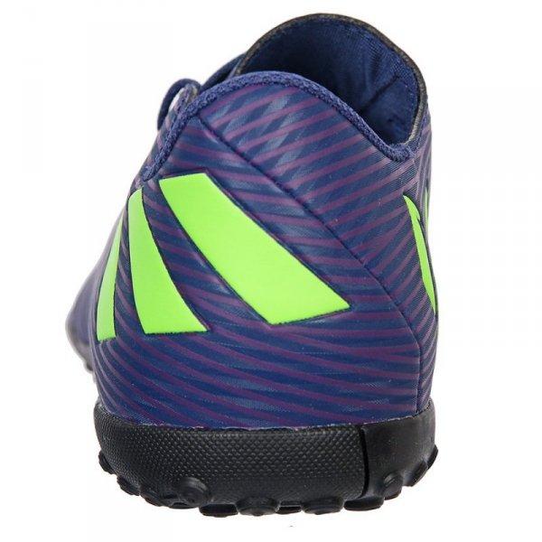 Buty adidas Nemeziz Messi 19.4 TF J EF1818 granatowy 38