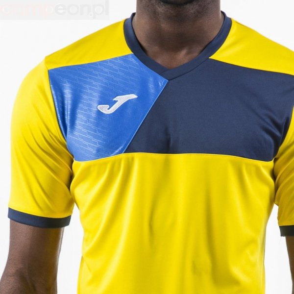 Koszulka Joma Crew II 100611.903 żółty 128 cm