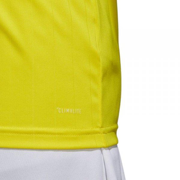 Koszulka adidas Tabela 18 JSY CE8941 żółty L