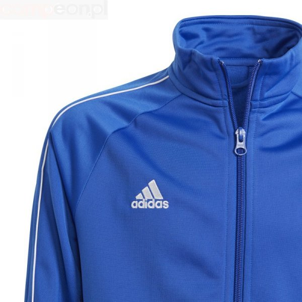 Bluza adidas CORE 18 PES JKTY CV3578 niebieski 164 cm