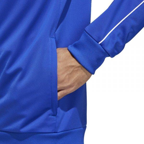 Bluza adidas CORE 18 PES JKT CV3564 niebieski M