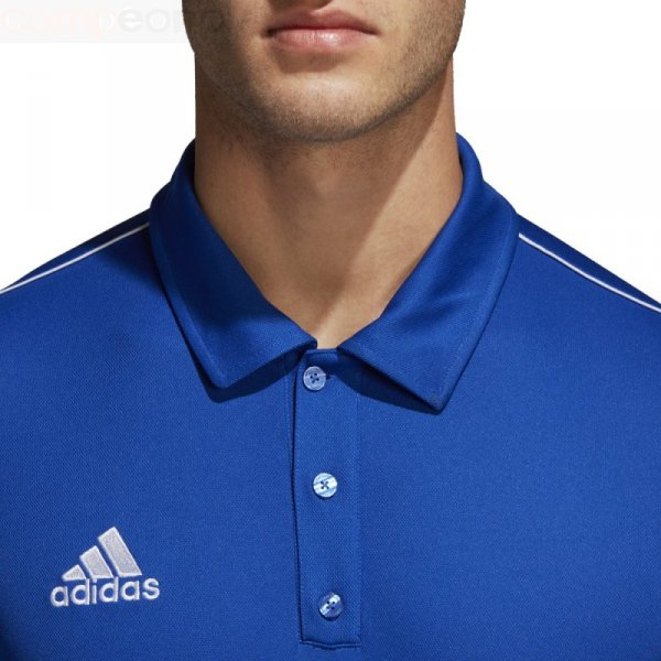 Koszulka adidas Polo Core 18 CV3590 niebieski L