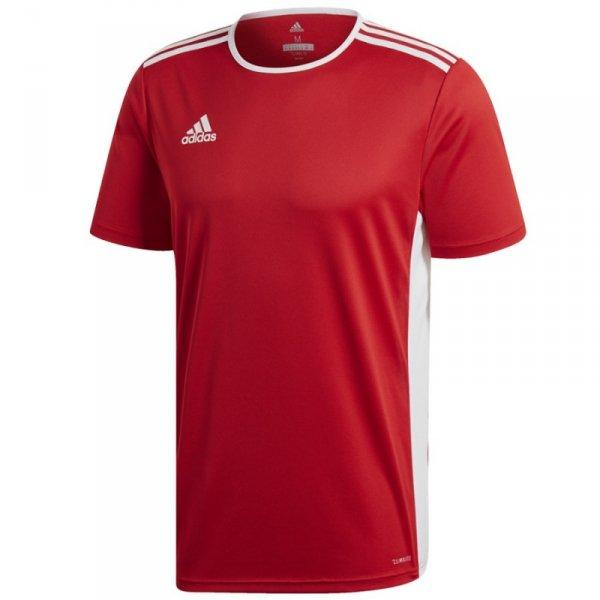 Koszulka adidas Entrada 18 JSY CF1038 czerwony L