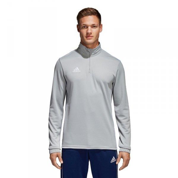 Bluza adidas CORE 18 TR TOP CV4000 szary L