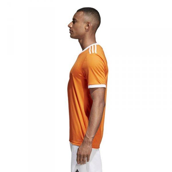 Koszulka adidas Tabela 18 JSY CE8942 pomarańczowy 140 cm