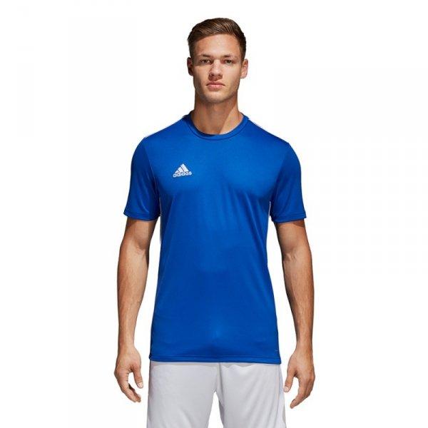 Koszulka adidas Core 18 Tee CV3451 niebieski L