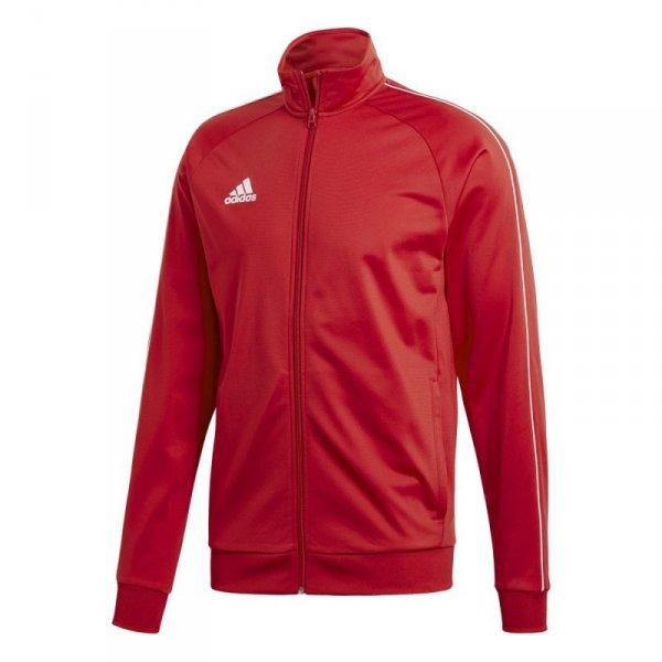 Bluza adidas CORE 18 PES JKT CV3565 czerwony XL