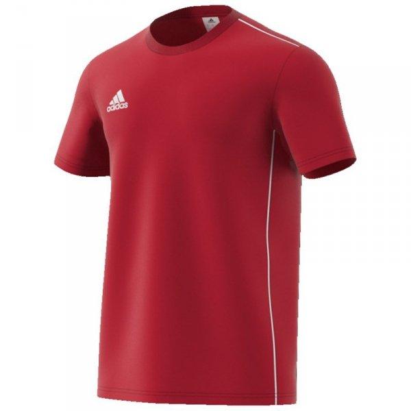 Koszulka adidas Core 18 Tee CV3982 czerwony XL
