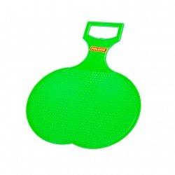 Jabłuszko ślizg sanki lodowe dla dzieci - zielony